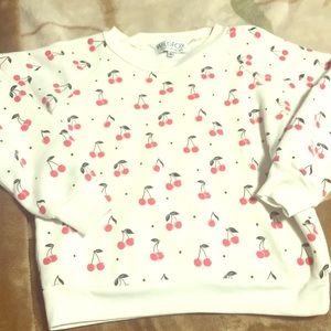 Wildfox cherry 🍒 sweater EUC